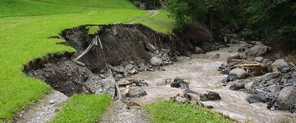 Aménagement des berges - stabiliser et consolider les sols afin d'arrêter l'érosions de berges
