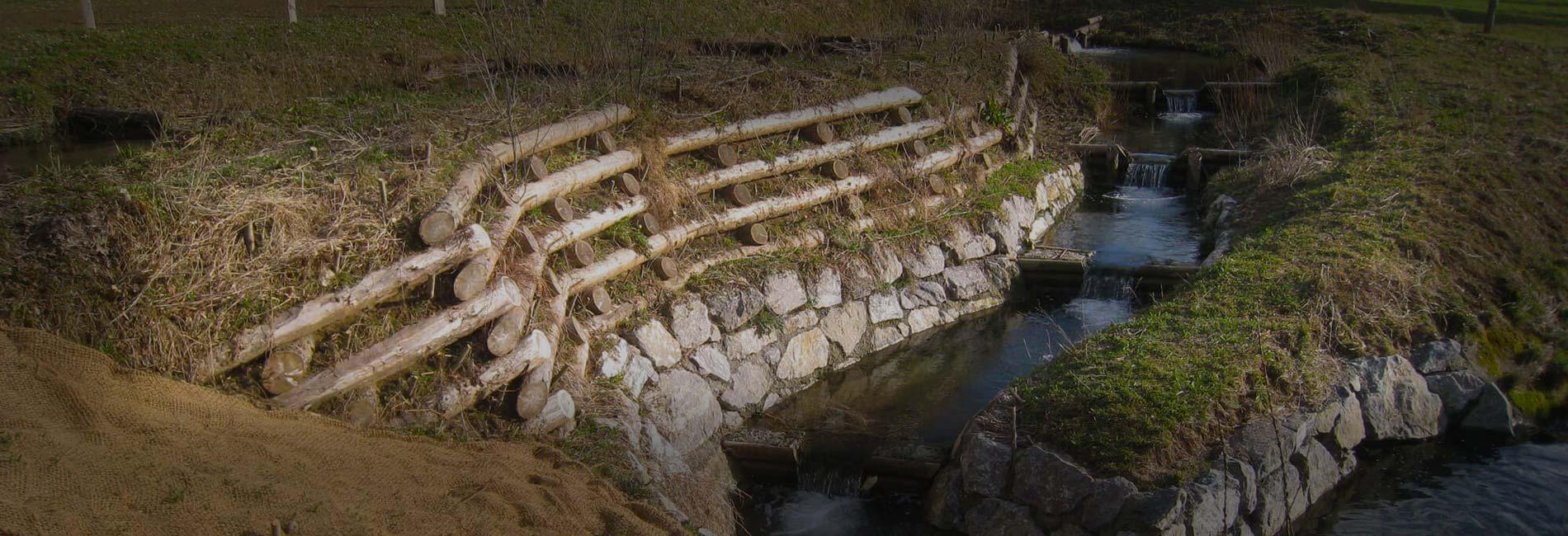 Projet aménagement des berges